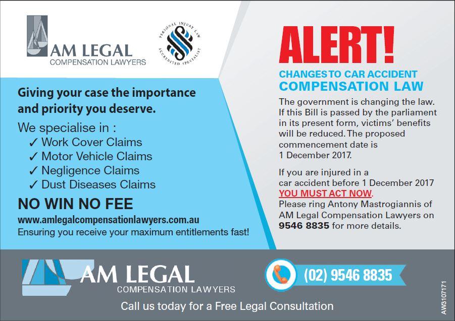 car accident lawyers sydney